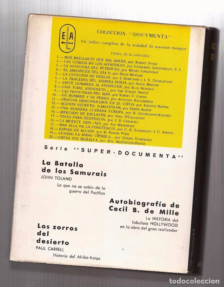 Libros de segunda mano: CECIL B. DEMILLE – AUTOBIOGRAFÍA – ARGOS, 1960 – 1ª ED. - CON FOTOGRAFÍAS B/N. - Foto 2 - 89914720