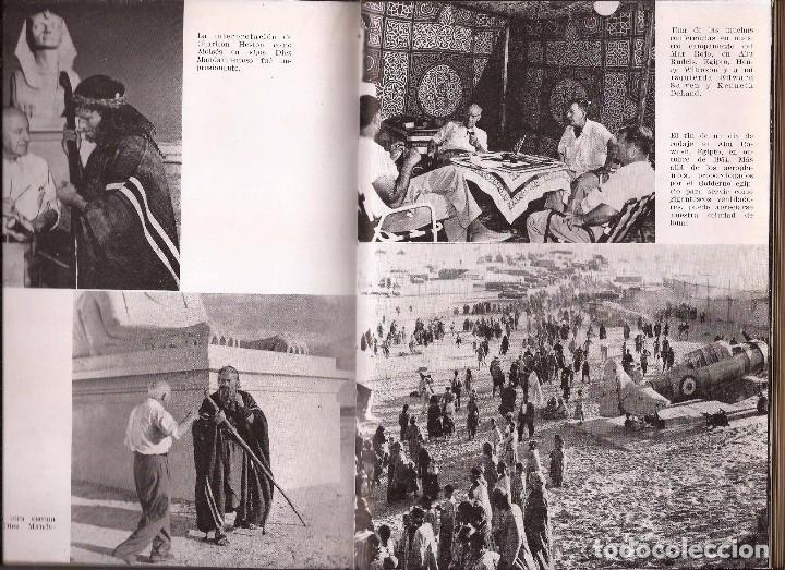 Libros de segunda mano: CECIL B. DEMILLE – AUTOBIOGRAFÍA – ARGOS, 1960 – 1ª ED. - CON FOTOGRAFÍAS B/N. - Foto 6 - 89914720