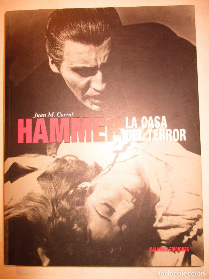 HAMMER-LA CASA DEL TERROR-JUAN M.CORRAL-CALAMR EDICIONES (Libros de Segunda Mano - Bellas artes, ocio y coleccionismo - Cine)