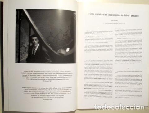 Libros de segunda mano: Bresson, Robert - CICLE ROBERT BRESSON - Sabadell 2004 - Il·lustrat - Foto 2 - 90394550