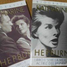 Libros de segunda mano: LIBROS KATHERINE HEPBURN. DOS LIBROS. @@@. Lote 92289660