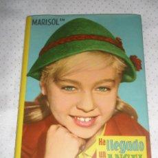 Libros de segunda mano: HA LLEGADO UN ÁNGEL - MARISOL - CINÉXITO Nº 2 - EDITORIAL FELICIDAD [COMO NUEVO] AÑOS 60. Lote 92778770