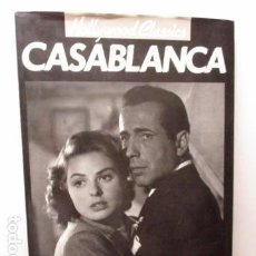 Libros de segunda mano: CASABLANCA. HOLLYWOOD CLASSICS. MARIE CAHILL (EN INGLÉS). Lote 93039385