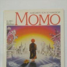 Libros de segunda mano: MOMO EL LIBRO DE LA PELICULA. MARGARET VON SHWARZKOPF. EDICIONES ALFAGUARA. TDK305. Lote 93244145