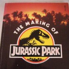 Libros de segunda mano: THE MAKING OF JURASSIC PARK--DON SHAY& JODY DUNCAN-BOXTREE--1ª EDICION 1993. Lote 137881758