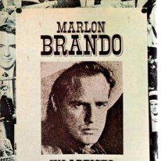 Libros de segunda mano: MARLON BRANDO, UN ARTISTA REBELDE - BOB THOMAS. Lote 94367058