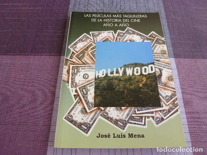 LAS PELICULAS MAS TAQUILLERAS DE LA HISTORIA DEL CINE AÑO A AÑO -JOSE LUIS MENA. (Libros de Segunda Mano - Bellas artes, ocio y coleccionismo - Cine)