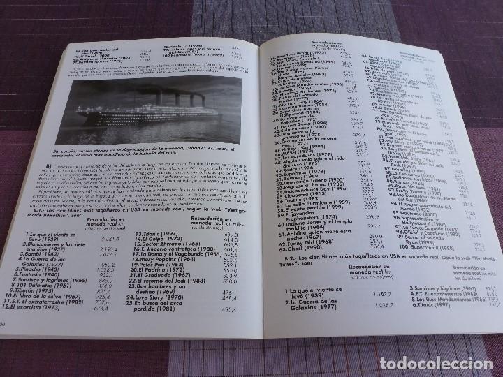 Libros de segunda mano: LAS PELICULAS MAS TAQUILLERAS DE LA HISTORIA DEL CINE AÑO A AÑO -JOSE LUIS MENA. - Foto 10 - 95153215