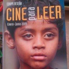 Libros de segunda mano: CINE PARA LEER. 2009. ENERO-JUNIO (BILBAO, 2009). Lote 95154655
