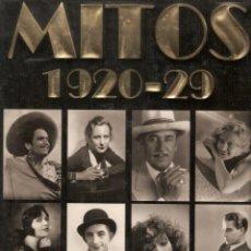 Libros de segunda mano: MITOS 1920-29 CIEN AÑOS DE CINE. Lote 95459823