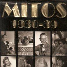 Libros de segunda mano: MITOS 1930 - 39 CIEN AÑOS DE CINE. Lote 95468055