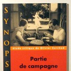 Libros de segunda mano: RENOIR, JEAN - CURCHOD, OLIVER - PARTIE DE CAMPAGNE JEAN RENOIR - NATHAN 1995. Lote 96095426