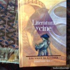 Libros de segunda mano: LITERATURA Y CINE. LOS VIAJES DE GULLIVER. Lote 96206312