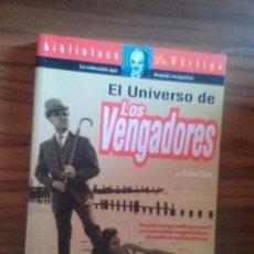Libros de segunda mano: EL UNIVERSO DE LOS VENGADORES. XAVIER PEREZ. RÚSTICA. GLENAT. BUEN ESTADO. RARO. Lote 96209071
