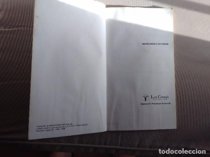 Libros de segunda mano: MICHELANGELO ANTONIONI. Carlos Colón, Gian Piero Brunetta, Carlo di Carlo, Octavi Martí... - Foto 3 - 96259667