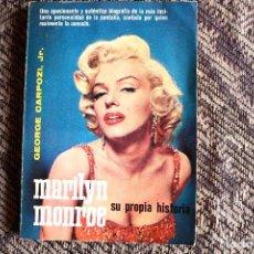 Libros de segunda mano: MARILYN MONROE - SU PROPIA HISTORIA. Lote 96520983