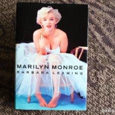 Libros de segunda mano: MARILYN MONROE - BIOGRAFIA - POR BARBARA LEAMING. Lote 96682959
