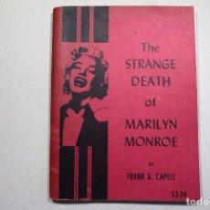 Libros de segunda mano: STRANGE DEATH OF MARILYN MONROE - 1964. Lote 96815531