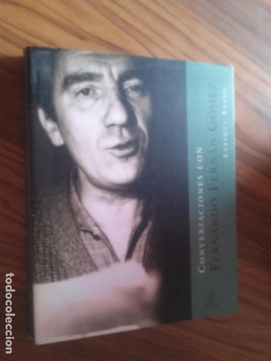 CONVERSACIONES CON FERNANDO FERNÁN GÓMEZ. ENRIQUE BRASÓ. ESPASA. TAPA DURA. BUEN ESTADO (Libros de Segunda Mano - Bellas artes, ocio y coleccionismo - Cine)