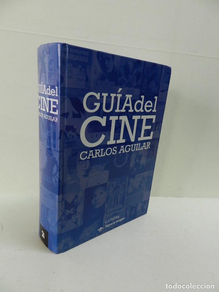 GUÍA DE CINE, DE CARLOS AGUILAR. CÁTEDRA EDICIONES. (Libros de Segunda Mano - Bellas artes, ocio y coleccionismo - Cine)