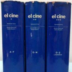 Libros de segunda mano: EDMOND ORTS - EL CINE (3 VOLS.). EDICIONES MENSAJERO, 1985.. Lote 97281727