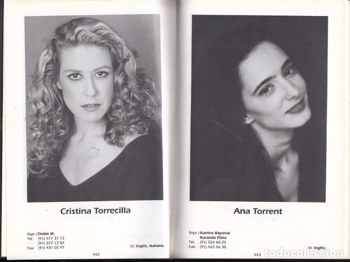Libros de segunda mano: IV GUIA DE ACTORES 1995 - 1996 Union de Actores - Madrid España 1001 paginas - casi 1000 fotografias - Foto 2 - 97397343