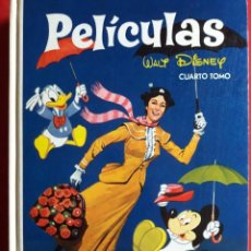 Libros de segunda mano: PELÍCULAS DE WALT DISNEY / CUARTO TOMO / COLECCIÓN JOVIAL / 1984. Lote 199823938