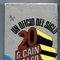 Libros de segunda mano: 'UN OFICIO DEL SIGLO 20. G. CAÍN 1954-60' - GUILLERMO CABRERA INFANTE, PRIMERA EDICIÓN EN ESPAÑA . Lote 98901583
