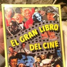 Libros de segunda mano: ANTIGUO LIBRO EL GRAN LIBRO DEL CINE ESCRITO POR JOEL W. FINLER AÑO 1979 . Lote 99229643