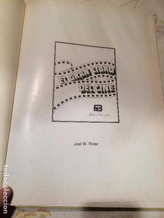 Libros de segunda mano: Antiguo libro el gran libro del cine escrito por Joel W. Finler año 1979 - Foto 2 - 99229643