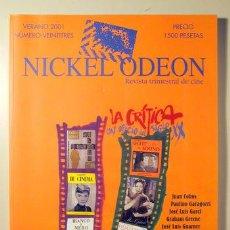 Libros de segunda mano: NICKEL ODEON 23. VERANO 1995. REVISTA TRIIMESTRAL DE CINE - LA CRITICA: UN OFICIO DEL SIGLO XX- MADR. Lote 99327920