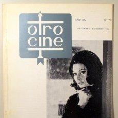 Libros de segunda mano: OTRO CINE. Nº 75. - BARCELONA 1965. Lote 99504603