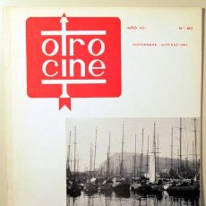 Libros de segunda mano: OTRO CINE. Nº 68 - BARCELONA 1965. Lote 99504631