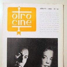 Libros de segunda mano: OTRO CINE. Nº 30 - BARCELONA 1958. Lote 99504811