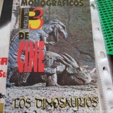 Libros de segunda mano: PANTALLA 3. MONOGRÁFICOS DE CINE. NÚMERO 1. LOS DINOSAURIOS. Lote 100195762