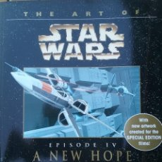 Libros de segunda mano: THE ART OF STAR WARS - A NEW HOPE (EPISODE IV). Lote 100284495