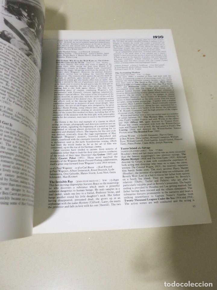 Libros de segunda mano: ENCICLOPEDIA CIENCIA FICCION ENCYCLOPEDIA PHIL HARDY CINE PELICULAS - Foto 6 - 100454743