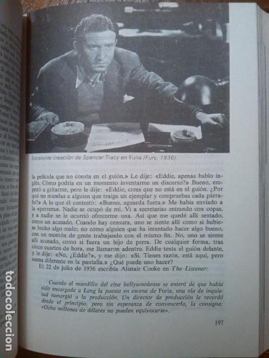 Libros de segunda mano: MENDEZ LEITE VON HAFE, FERNANDO: FRITZ LANG SU VIDA Y SU CINE - Foto 4 - 100869415
