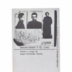 Libros de segunda mano - MAIAKOVSKI Y EL CINE - FERNÁNDEZ SANTOS, Ángel (ed.) - 101734739