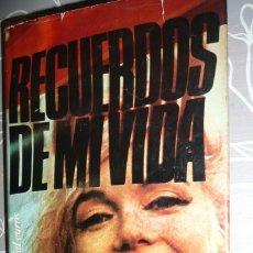 Libros de segunda mano: MARILYN MONROE: RECUERDOS DE MI VIDA EDITORIAL EUROS 1ª EDICIÓN 1975. Lote 101839667