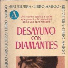 Libros de segunda mano: NOVELA-DESAYUNO CON DIAMANTES TRUMAN CAPOTE BRUGUERA 1971 AUDREY HEPBURN. Lote 102674787