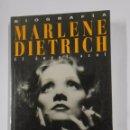 Libros de segunda mano: MARLENE DIETRICH. EL ÁNGEL AZUL. DONALD SPOTO. PRIMER PLANO. TDK324. Lote 102820995