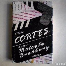 Libros de segunda mano: CORTES, MALCOM BRADBURY EDHASA. Lote 103568555