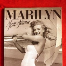 Libros de segunda mano: LIBRO - MARILYN MON AMOUR (THE PRIVATE ALBUM OF ANDRE DE DIENES) EN INGLÉS - MARILYN MONROE. Lote 103678547