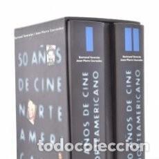 Libros de segunda mano: 50 AÑOS DE CINE NORTEAMERICANO, TOMO 1 Y 2 - TAVERNIER Y COURSODON.1997 ED AKAL. Lote 105150331