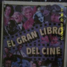 Libros de segunda mano: LIBRO Nº 1346 EL GRAN LIBRO DEL CINE DE JOEL W. FINLER. Lote 105373867