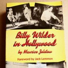 Libros de segunda mano: BILLY WILDER IN HOLLYWOOD. Lote 107297187