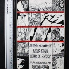 Libros de segunda mano: 10 CERTAMEN INTERNACIONAL FILMS CORTOS CIUDAD DE HUESCA 1982 24 PAGINAS, CINE CORTOMETRAJE. Lote 108402079