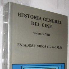Libros de segunda mano: ESTADOS UNIDOS 1932-1955 - HISTORIA GENERAL DEL CINE CATEDRA VOLUMEN VIII - ILUSTRADO *. Lote 109473583
