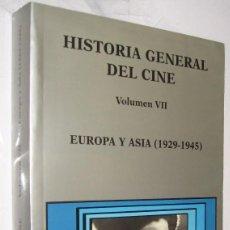 Libros de segunda mano: EUROPA Y ASIA 1929-1945 - HISTORIA GENERAL DEL CINE CATEDRA VOLUMEN VII - ILUSTRADO *. Lote 109473875